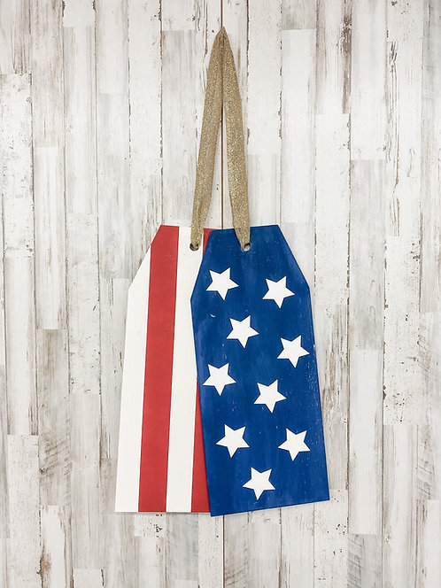 Door Tags - Stars & Stripes
