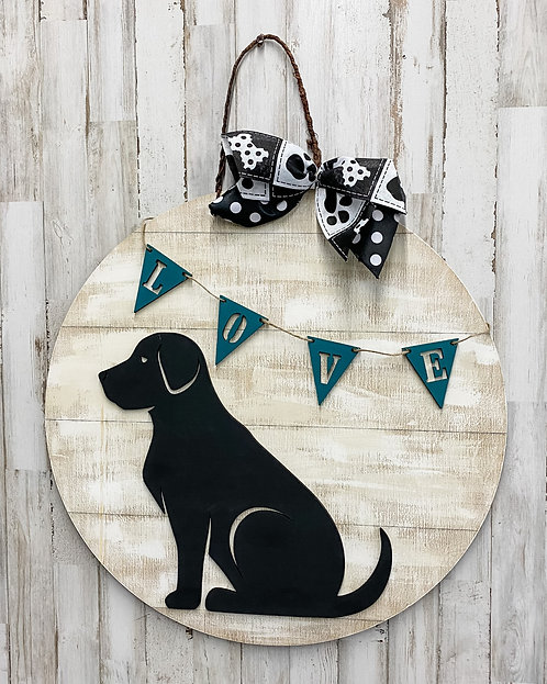 Door Hanger - Puppy Love