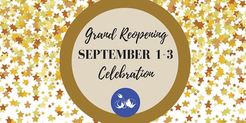 Grand Reopening Celebration