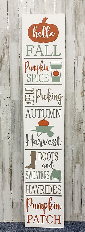 Porch Sign - Fall Favorites