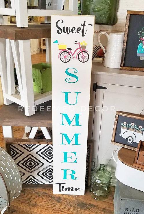 Porch Sign - Sweet Summer