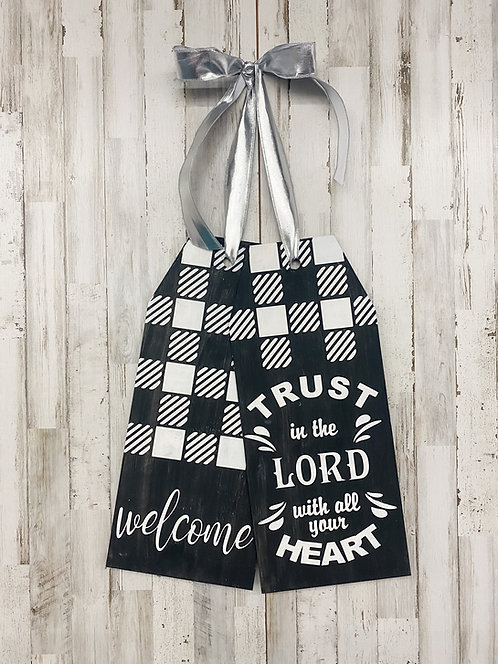 Door Tags - Trust in the Lord