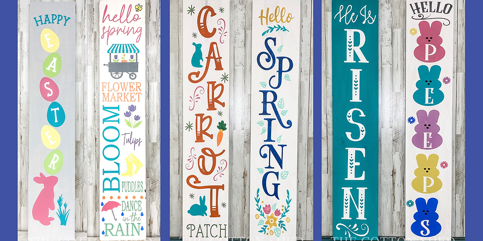 Pick Your Project Workshop ~ Porch Signs