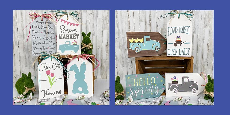 Spring & Easter Tags Take Home Kit