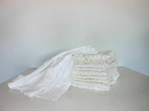 SK05PFB (5 kg)-Baltos medvilninės flanelinės patalynės šluostės