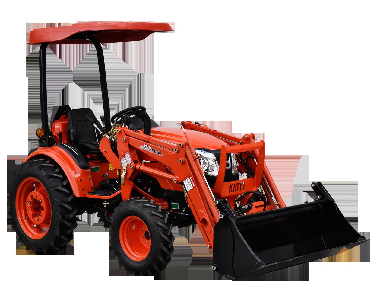 Tractor Kioti compacto CK2810 28hp