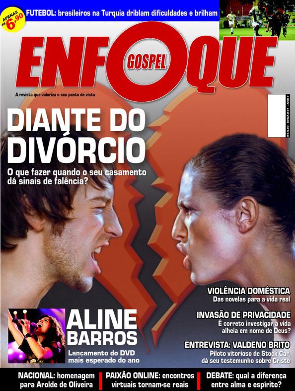 Direção de Arte - Revista Enfoque