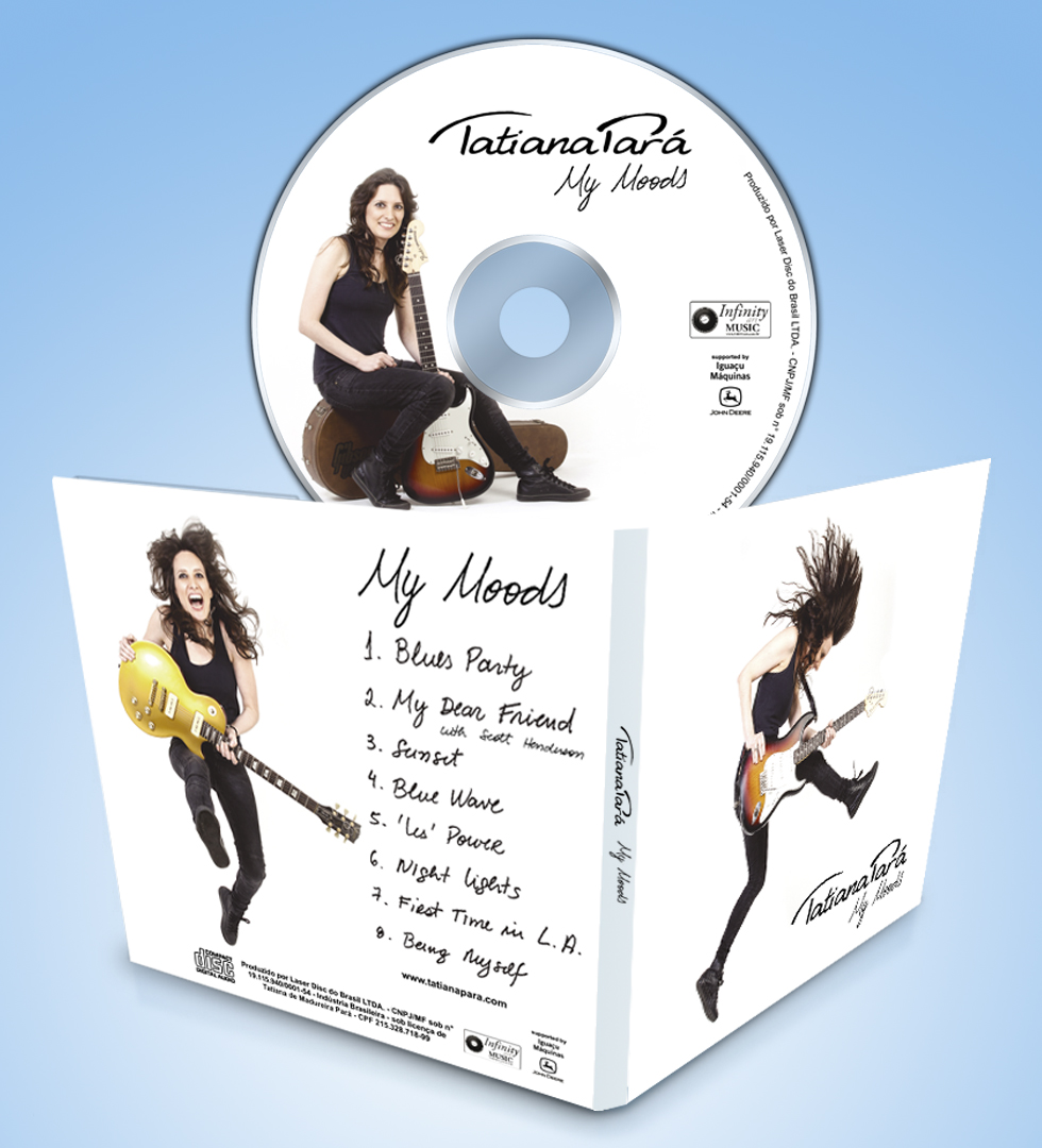 Arte para CD - Tatiana Pará