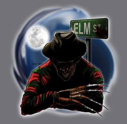 Elm Street stamp tshirt