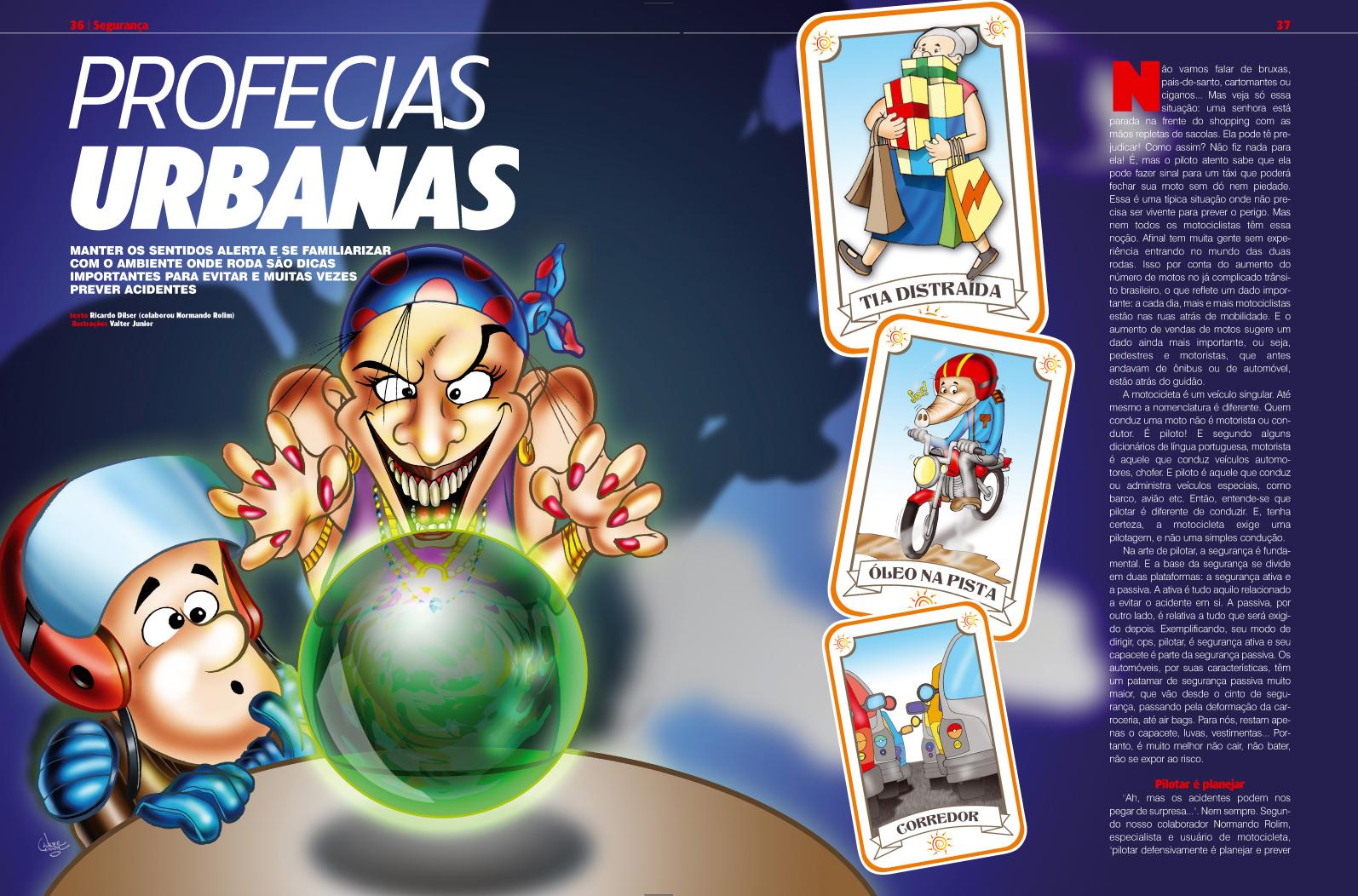 Design Revista Duas Rodas