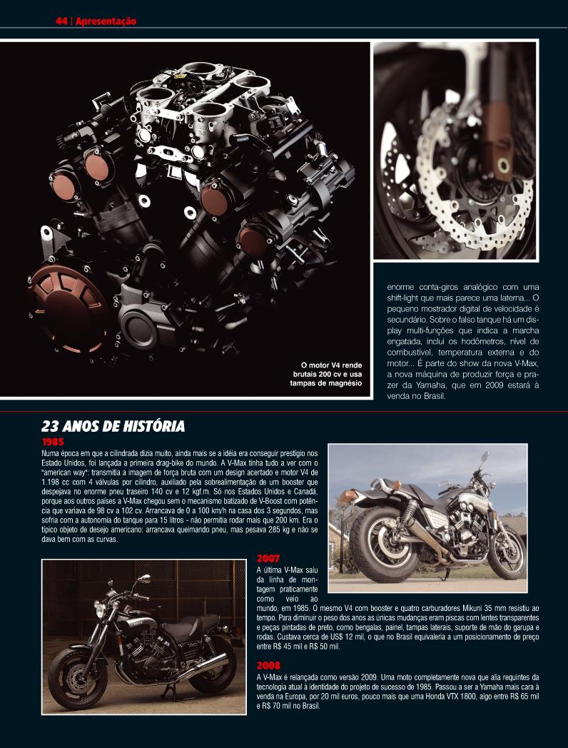 Direção de arte - Revista Duas Rodas