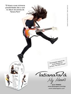Anúncio para revista - Tatiana Pará