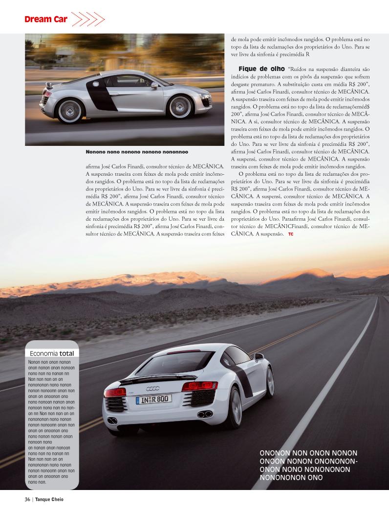 Direção de arte - Revista HOT