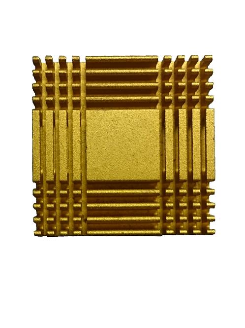 M0013 Pieza Aluminio Cuadrada