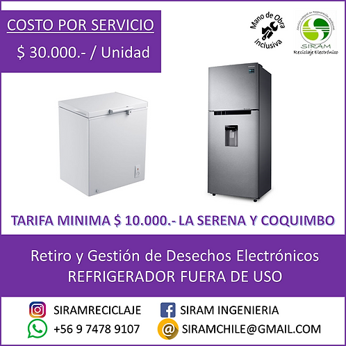 R0011 Refrigerador