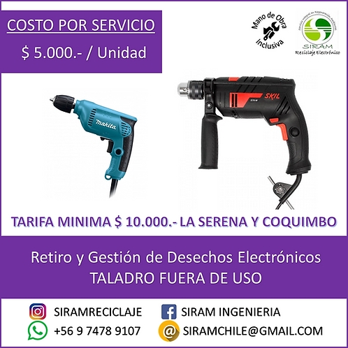 R0007 Taladro