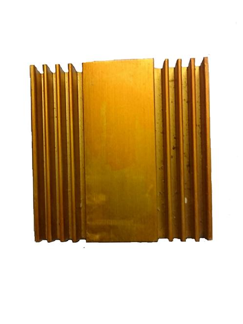 M0014 Pieza Cuadrada Aluminio