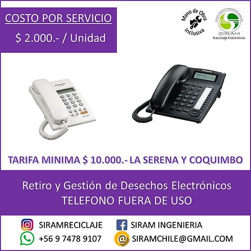 R0005 Teléfono Analógico