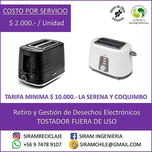 R0001 Tostador Eléctrico