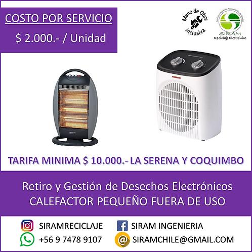 R0022 Calefactor Pequeño