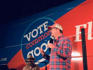 Robb Ryerse - 2018 Vote Common Good Tour