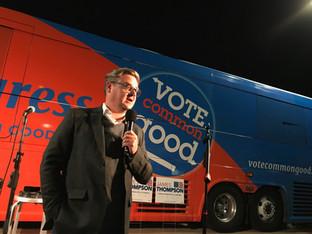 Robb Ryerse - The Vote Common Good Bus