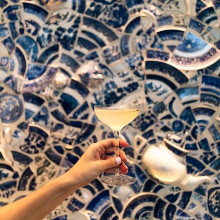 Blue Willow Wall, Washington DC