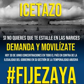 concentraciones en toda España para reclamar #FijezaYA para los empleados públicos en fraude de ley