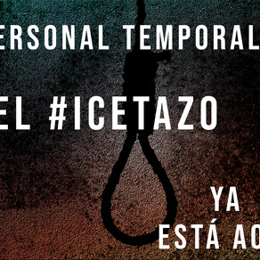 ICETAZO: CAMINAMOS HACIA ATRÁS COMO LOS CANGREJOs