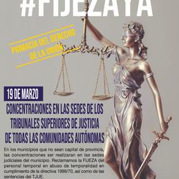 #19M Aniversario de la sentencia del TJUE