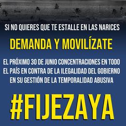 CONTRA EL ICETAZO DEMANDA Y MOVILÍZATE