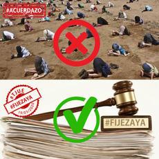 NO ESPERES MÁS Y DEMANDA YA #FijezaYa