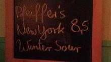 Pfeiffer's New York Winter Sour