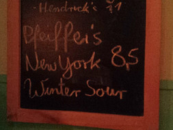 Pfeiffer's New York Winter Sour