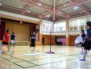 スピードボール冬季強化練習兼計測会を開催します。