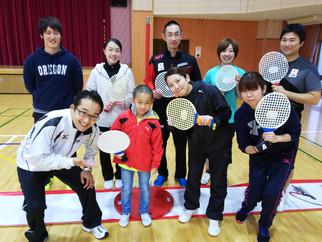 「NHK おはよう日本」の生中継でスピードボールが紹介されました。