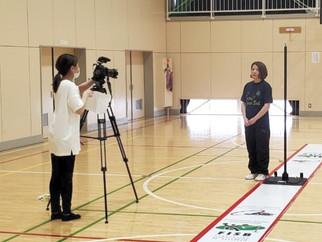 フジテレビ めざましテレビの「キラビト!」で、石田里美選手が紹介されます。