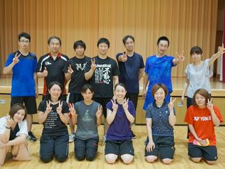 スピードボール夏季強化練習・計測会を開催しました。