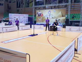 第29回スピードボール世界選手権エジプト大会 女子スーパーソロ 結果