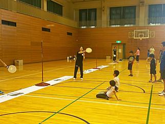 第27回こしがやスポーツフェアにて、スピードボール体験会を開催しました。