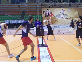 第29回スピードボール世界選手権エジプト大会 ミックスダブルス 結果