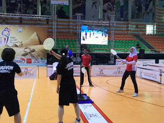 第29回スピードボール世界選手権エジプト大会 女子ダブルス 結果