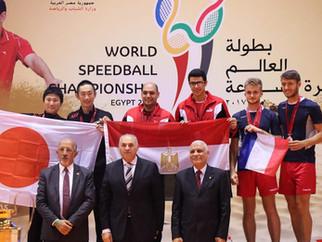 第29回スピードボール世界選手権エジプト大会 男子ダブルス 結果