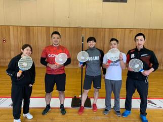臨海スポーツセンター(袖ケ浦市)にてスピードボール体験会を行いました。