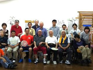 我孫子市障害者福祉センターのスピードボール講座に参加しました。