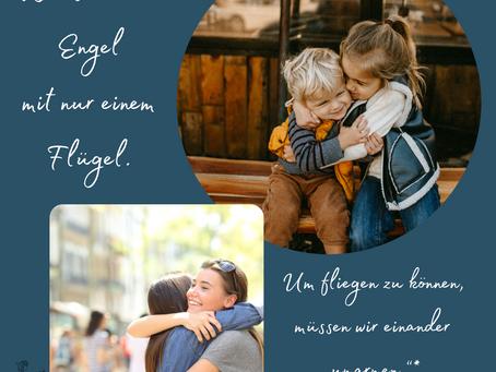 Ein Plädoyer für Umarmungen und Zusammenhalt im Familienleben - November 2020