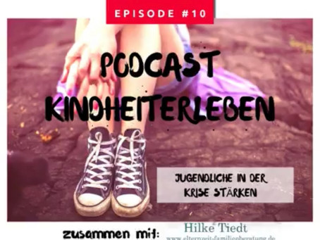 """Podcast """"Jugendliche in der Krise stärken"""""""