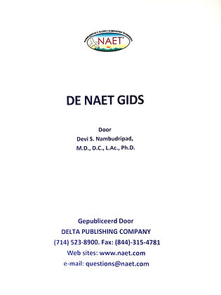 NAET Guide Book (Dutch)