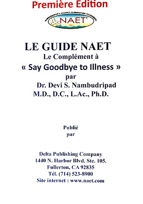 NAET Guide Book (French)