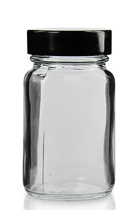 Glass Jar for Samples (60 mL)